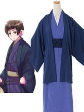 Axis Powers Hetalia Japan Halloween Cosplay Wig Kimono Version Halloween