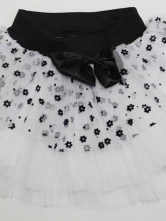 28e4cb247a ... Quality Sweet Gauze White And Black Sleeveless Cotton Girls Dresses-No.5