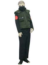 Anime Costumes AF-S2-80721 Uniform Cloth Naruto Hatake Kakashi Kids Deluxe Cosplay Costume