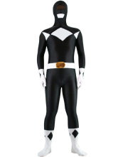 Anime Costumes AF-S2-25612 Halloween Black And White Lycra Spandex Unisex Super Hero Zentai Suit