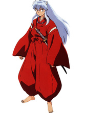 Anime Costumes AF-S2-9038 InuYasha Feudal Fairy Tale InuYasha Halloween Cosplay Costume