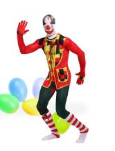 Anime Costumes AF-S2-342646 Halloween Clown Unisex Lycra Spandex Multicolor Zentai Suits