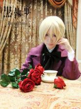 Anime Costumes AF-S2-152654 Black Butler Kuroshitsuji Arnold Trancy Halloween Cosplay Costume