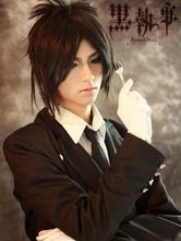 Anime Costumes AF-S2-1221 Black Butler KuroShitsuji Sebastian Halloween Cosplay Costume