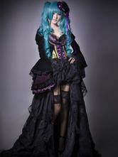 Vocaloid Hatsune Miku Halloween Cosplay Costume The Grave Of The Scarlet Dragon Halloween