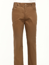 Anime Costumes AF-S2-79265 Men's Vintage Costume Victorian Brown Retro Trousers