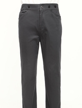 Anime Costumes AF-S2-79326 Popular Gray Cotton Mens Steampunk Trousers