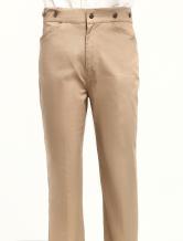 Anime Costumes AF-S2-79320 Men's Vintage Costume Victorian Khaki Retro Trousers