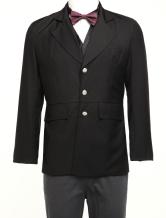 Anime Costumes AF-S2-67410 Men's Vintage Costume Victorian Black Coat Retro Suit Jacket