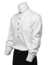 Anime Costumes AF-S2-80150 Steampunk Dress Shirts Wing Collar Button Up Long Sleeve White Shirts
