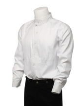 Anime Costumes AF-S2-79370 Steampunk White Shirts Men's Long Sleeve Button Up Standing Collar Dress Shirts