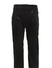 Anime Costumes AF-S2-79286 Men's Vintage Costume Victorian Black High Waist Retro Trousers