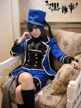 Anime Costumes AF-S2-14420 Black Butler Kuroshitsuji Ciel Phantomhive Halloween Cosplay Costume