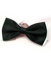 Black Men's Elastic Bow Tie