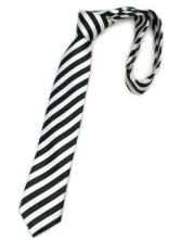 Fashionable Black Stripe Ties