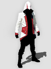 Inspired By Assassins Creed Red White Cosplay Costume