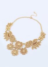 Elegant Fantastic Gold Flower Pendants