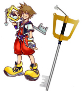 Anime Costumes AF-S2-445893 Kingdom Hearts Sora Keyblade Cosplay Weapon