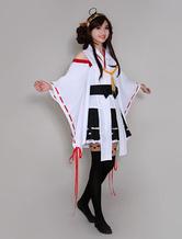 Anime Costumes AF-S2-475109 Kantai Collection Kancolle Kongou Halloween Cosplay Costume