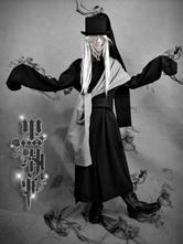 Anime Costumes AF-S2-1944 Black Butler KuroShitsuji Undertaker Halloween Cosplay Shoes