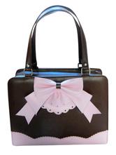 Lolitashow ロリータバッグ,全3色 リボン ハンドバッグ ポリウレタン/PU カジュアル