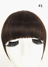 Anime Costumes AF-S2-546943 Side Straight Bangs Extension Women's Wigs 8 Inches Heat-resistant