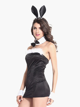 Anime Costumes AF-S2-495607 Halloween Black Bunny Costume
