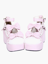 Swee Lolita Platform Shoes Ankle Strap Lolita Flatform Shoes