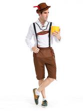 Anime Costumes AF-S2-503743 Carnival Men's Brown Oktoberfest Costume