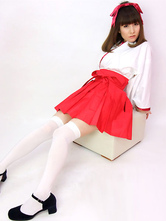 Anime Costumes AF-S2-536845 White Halloween Women's Samurai Costumes