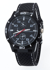 Rubber Quartz Casual Watches