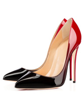 Frauen High Heels 2021  Spitzschuh Slip aus  Pumps Schwarz Kleid Schuhe