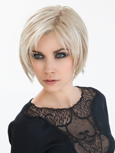 Anime Costumes AF-S2-618381 Athletic Wigs Straight Layered Short Synthetic Wigs