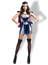Anime Costumes AF-S2-627167 Halloween Costumes Superwoman Wonder Woman Dress Cosplay With Headband
