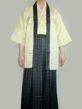 Anime Costumes AF-S2-633453 Halloween Kimono Costume Men's Traditional Japanese Samurai Kimono Sets
