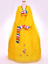 Anime Costumes AF-S2-634403 Halloween Korean Costume Fancy Dress Traditional Women's Wrap Maix Dress Set