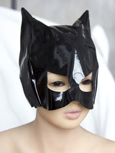 Anime Costumes AF-S2-636189 Halloween Sexy Toy Black Batman Mask For Men