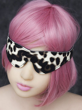Anime Costumes AF-S2-636185 Halloween Sexy Toy Women's Leopard Eyeshade & Handcuffs