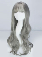 Perruque lolita grise  Déguisements Halloween