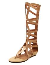 Women's Gladiator Sandals Cut Out Flip Flop Style Summer Sandals