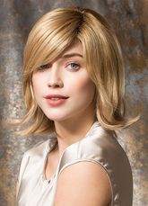 Anime Costumes AF-S2-651793 Gold Hair Wigs Women's Short Straight Upwards Side Parting Synthetic Wigs