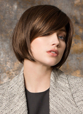 Anime Costumes AF-S2-653059 Short Hair Wigs Straight Women's Side Swept Bangs Synthetic Wigs With Inward Ends
