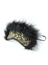 Anime Costumes AF-S2-651649 Faux Fur Eye Patch Leopard Print Sexy Cosplay Patch