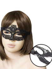 Anime Costumes AF-S2-651663 Black Sexy Toy Women's Lace Cut Out Eyes Mask