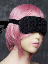 Anime Costumes AF-S2-651719 Sexy Eyepatch Costume Faux Fur Black Party Costume Blindfold Eye Mask
