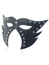 Anime Costumes AF-S2-651695 Sexy Eyepatch Costume PU Black Rivet Party Costume Eye Mask