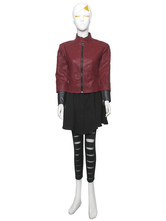 Anime Costumes AF-S2-540677 Marvel's The Avengers Scarlet Witch Halloween Cosplay Costume