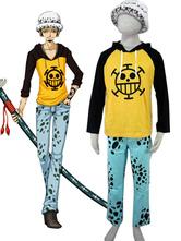 Anime Costumes AF-S2-67291 One Piece Trafalgar Law Halloween Cosplay Costume