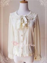Lolitashow Langärmeliges Lolita Hemd aus Chiffon