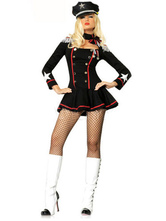 Anime Costumes AF-S2-457999 Halloween Black Cotton Blend Fashion Sailor Costume